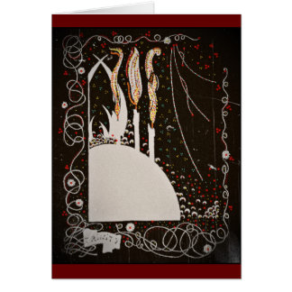 Byrd s Words Candles on Black Cards