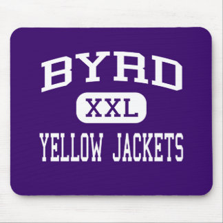 Byrd - Yellow Jackets - High - Shreveport Mouse Pad
