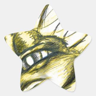 Byrdland in Yellow Star Stickers