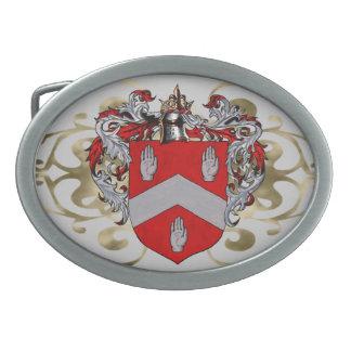Byrne Coat of Arms Oval Oval Belt Buckles