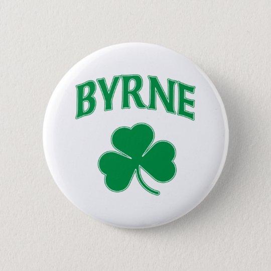 Byrne Irish 6 Cm Round Badge