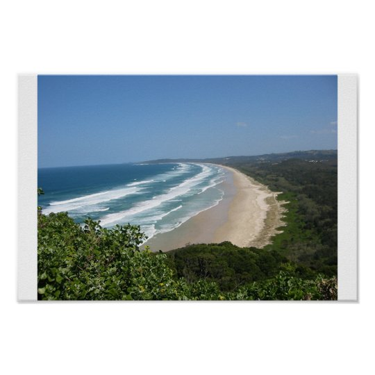 Byron Bay Beach Poster
