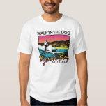 Byron Bay - Walkin the Dog T-shirts