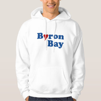 Byron Bay with Heart Hoodie