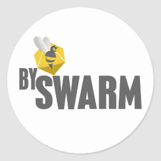 bySwarm stickers - white