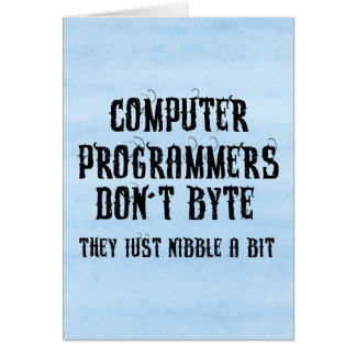 Byting Programmers Card