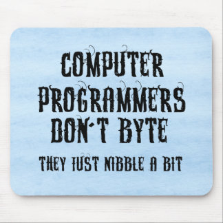 Byting Programmers Mouse Mats
