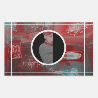 Byun BaekHyun - Exo Rectangular Sticker