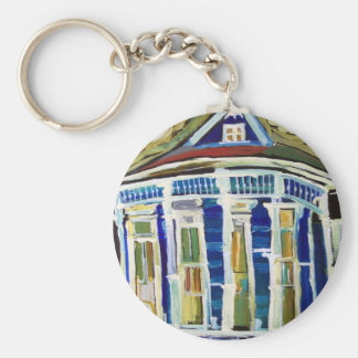 Bywater Blue Key Ring
