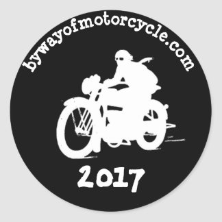 bywayofmotorcycle sticker 2