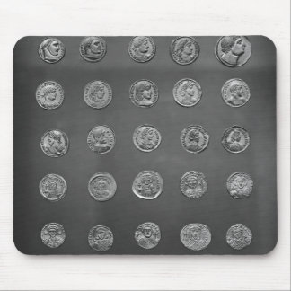 Byzantine and Roman coins, 04-10th century Mouse Pad
