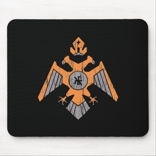 Byzantine Banner Mouse Pad