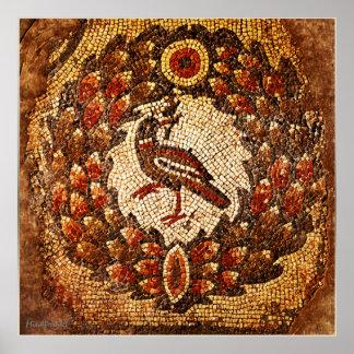 Byzantine Bird Poster