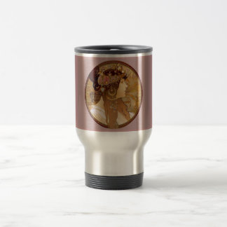 Byzantine Brunette, 1897 Travel Mug