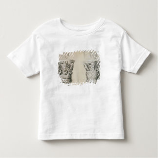 Byzantine capitals from columns in the nave of the toddler T-Shirt