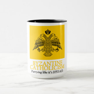 Byzantine Catholicism: Partying like it's 1053 AD Mug