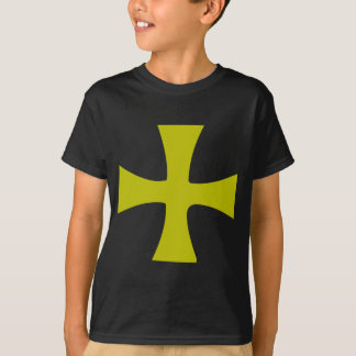 Byzantine Cross of Gold T-Shirt