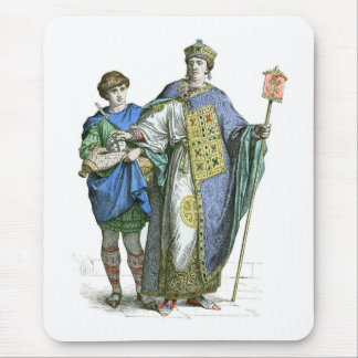 Byzantine Emperor Mouse Mat