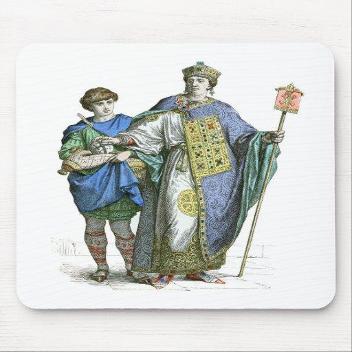 Byzantine Emperor Mousepads