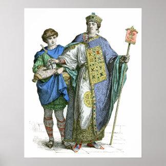 Byzantine Emperor Poster