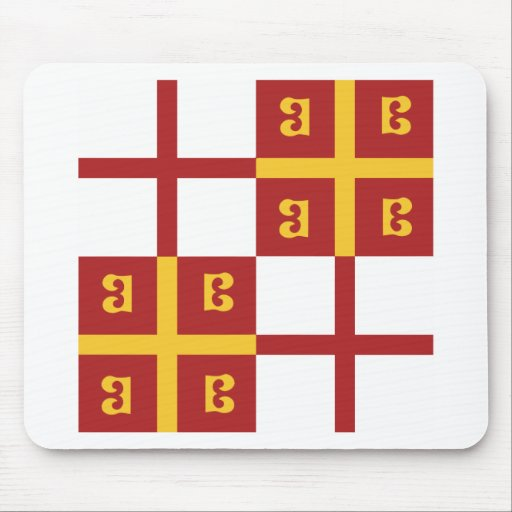 Byzantine Empire Flag Mouse Pad