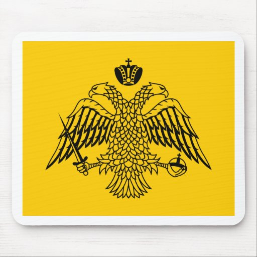 Byzantine Empire Flag T-Shirts Mouse Pads