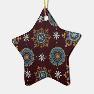 Byzantine Empire star ornament