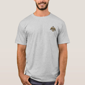 Byzantine Empire Two Headed Eagle Emblem Shirt