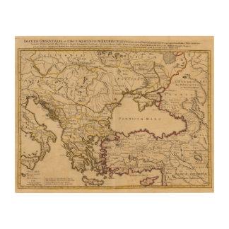 Byzantine Empire Wood Wall Art