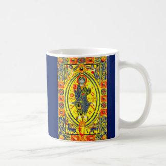Byzantine folk art Jesus Coffee Mug