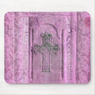 Byzantine Greek Cross Mouse Pads