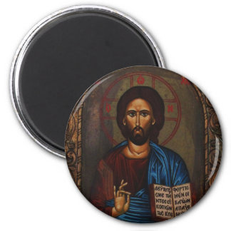 Byzantine Greek Orthodox Icon JESUS CHRIST Magnet