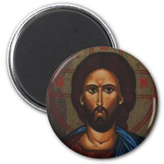 Byzantine Greek Orthodox Icon JESUS CHRIST Magnet
