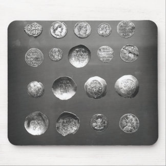 Byzantine, Roman and Sassanian coins Mouse Pad
