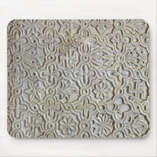 Byzantine slab with cruciform decoration, 12th-14t mousepad