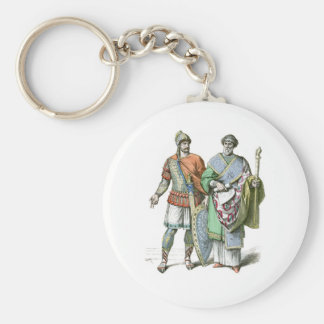 Byzantine Warrior and Chancellor Key Ring