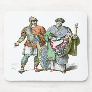 Byzantine Warrior and Chancellor Mousemat