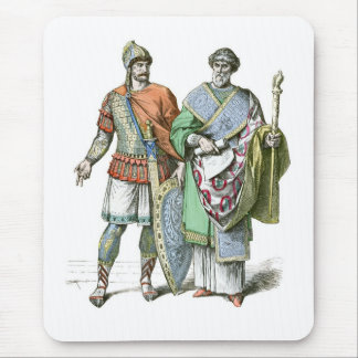 Byzantine Warrior and Chancellor Mouse Pad