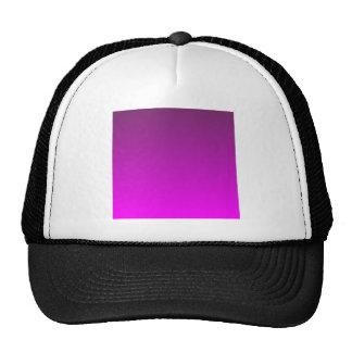 Byzantium to Fuchsia Horizontal Gradient Mesh Hat