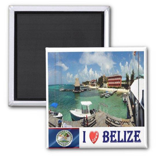 BZ - Belise - I Love Square Magnet