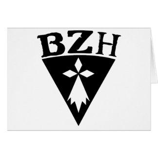 BZH Breizh Brittany Card
