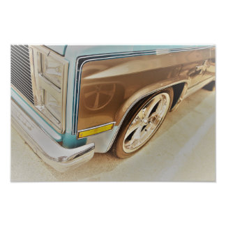 C10 Squarebody One Art Photo