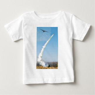 C130 HERCULES FIRING FLARES MISSILE BABY T-Shirt