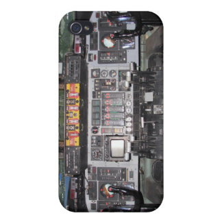 C141 Starlifter Aircraft Cockpit iPhone 4 Case