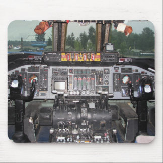 C141 Starlifter Aircraft Cockpit Mouse Mat