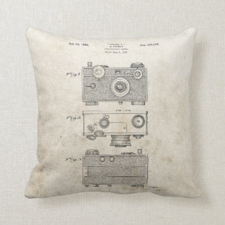 C3 Camera Throw Pillow