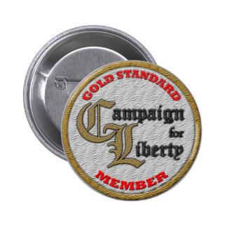 C4L GOLD Standard Member's Patch Button! 6 Cm Round Badge