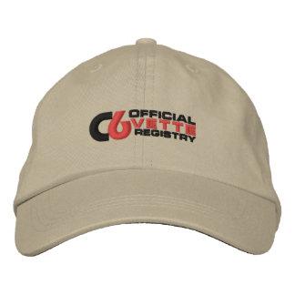 C6VR Logo Embroidered Light Color Hat Baseball Cap