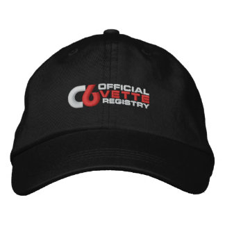 C6VR Logo Embroidery Dark Color Hat Embroidered Cap