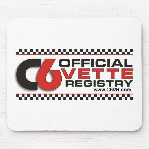 C6VR Logo Mousepad